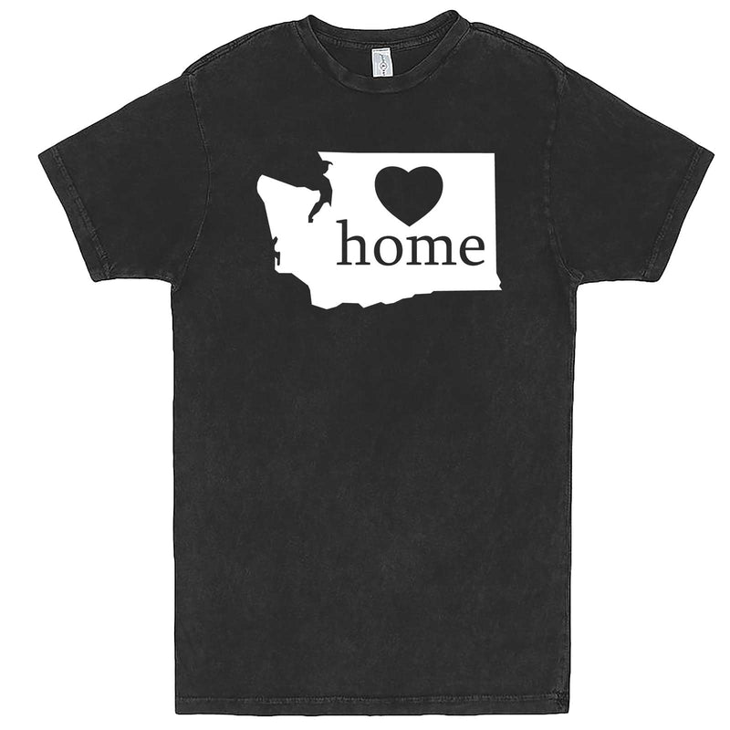 """Washington Home State Pride"" men's t-shirt Vintage Black"