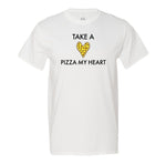 Take A Pizza My Heart Men's T-Shirt