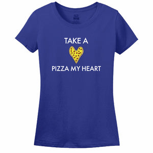 Take A Pizza My Heart Women's T-Shirt
