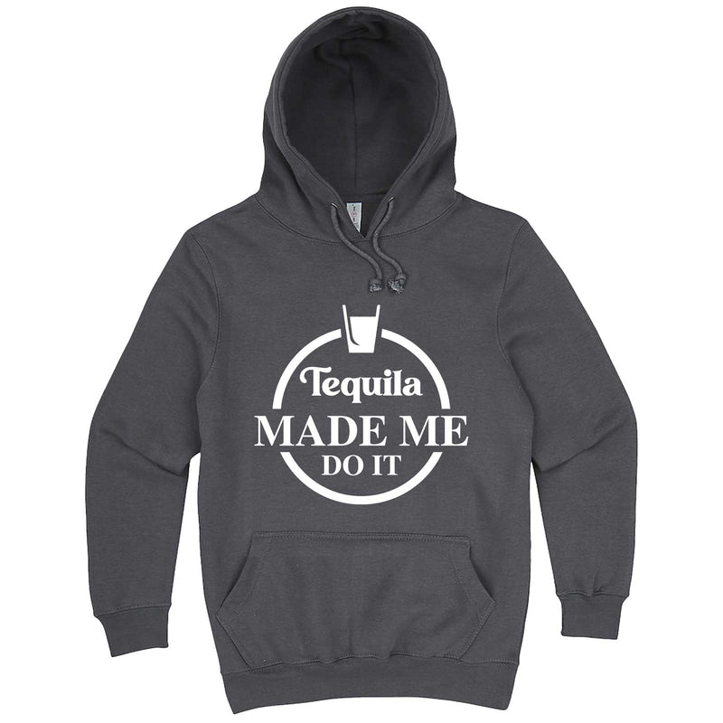 """Tequila Made Me Do It"" hoodie, 3XL, Storm"