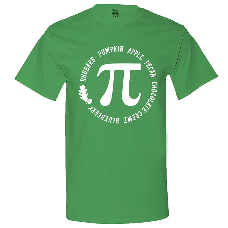 """Thanksgiving Pi - Geeky Foody Shirt"" men's t-shirt Irish-Green"