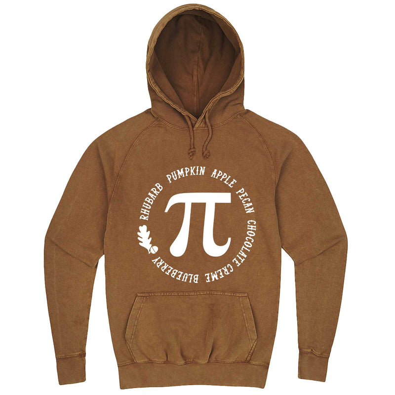 """Thanksgiving Pi - Geeky Foody Shirt"" hoodie, 3XL, Vintage Camel"