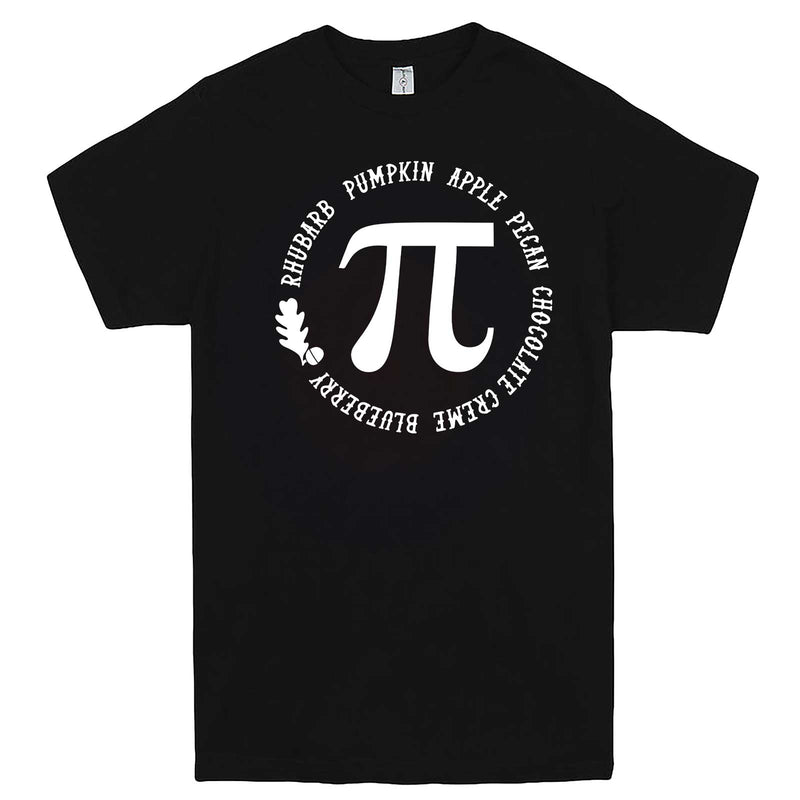 """Thanksgiving Pi - Geeky Foody Shirt"" men's t-shirt Black"