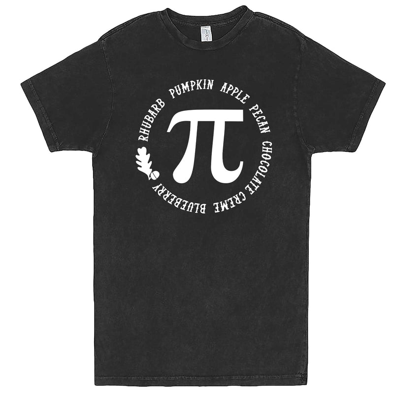 """Thanksgiving Pi - Geeky Foody Shirt"" men's t-shirt Vintage Black"