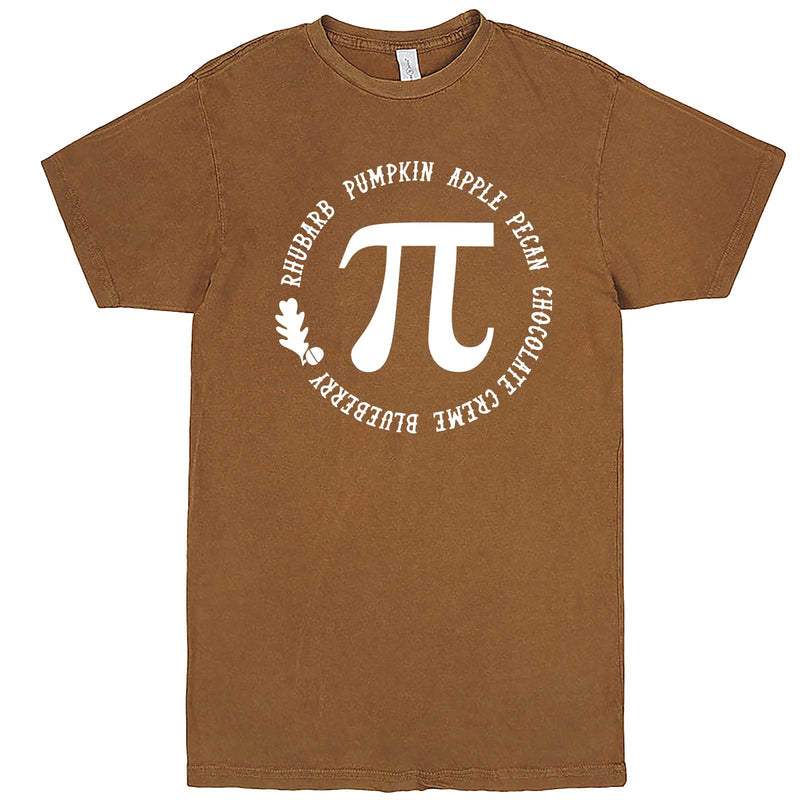 """Thanksgiving Pi - Geeky Foody Shirt"" men's t-shirt Vintage Camel"