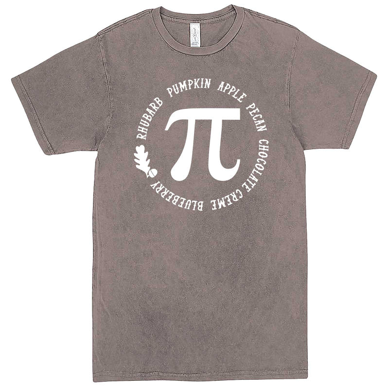 """Thanksgiving Pi - Geeky Foody Shirt"" men's t-shirt Vintage Zinc"