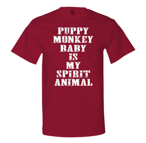 Puppy Monkey Baby Is My Spirit Animal Men's T-Shirt