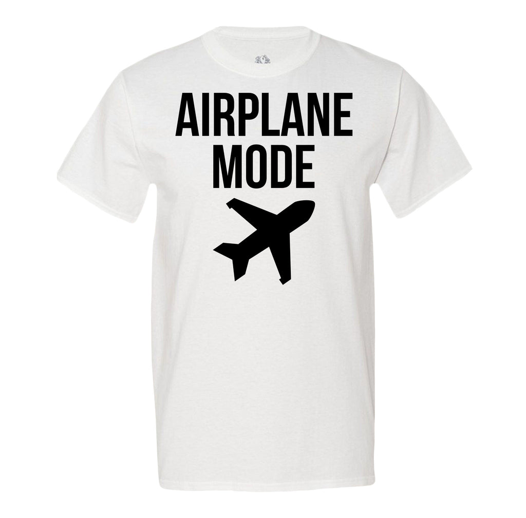 Minty Tees Airplane Mode Men's Tee Shirt