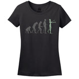 Zombie Evolution Women's T-Shirt