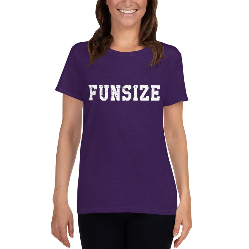 "Minty Tees ""Funsize"" Women's Short Sleeve T-Shirt"
