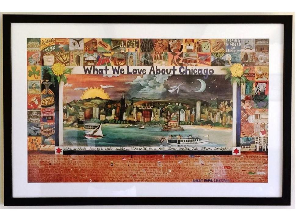 What we love about Chicago lithograph