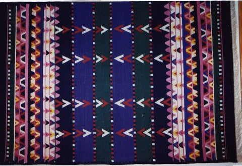 Reversible area real wool rug - Clan