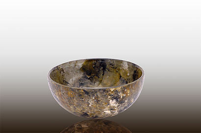 Small Wide Bowl in Forest Glen