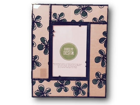 4x6 picture frame with 5-leaf clover