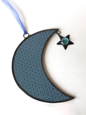 Large Moon Ornament