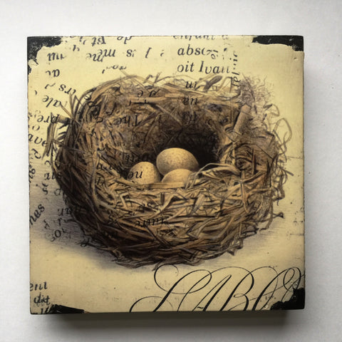 Cedar Mountain Art Block - Nest