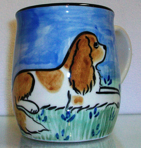 King Charles - Hand Painted Ceramic Coffee Mug