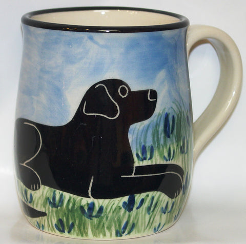 Labrador Black - Hand Painted Ceramic Coffee Mug