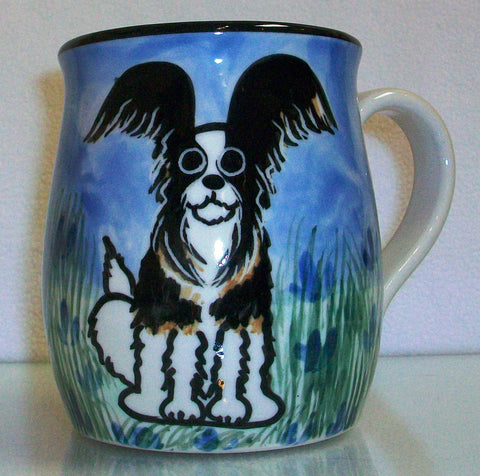 Pappilon - Hand Painted Ceramic Coffee Mug