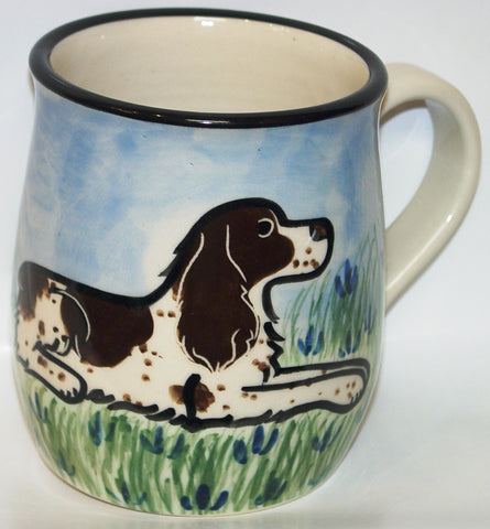 Springer Spaniel - Hand Painted Ceramic Coffee Mug