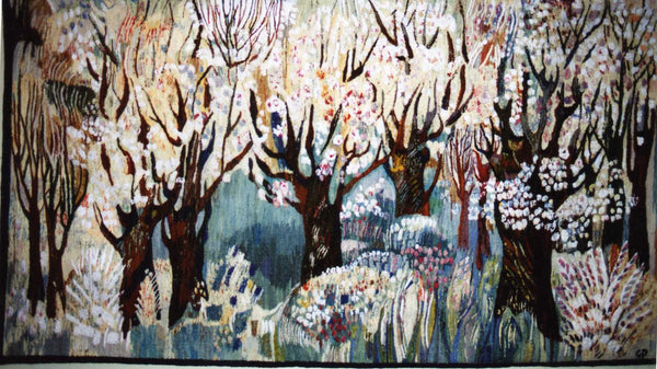 Orchard Hand Woven Tapestry By Piotr Grabowski Artquest Gallery