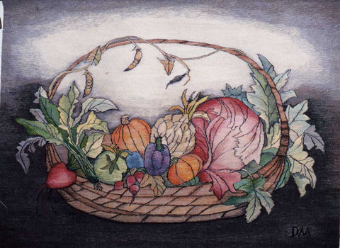 Harvest - Hand Woven Tapestry by Danuta Michno
