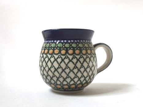 Polish Pottery Medium Round Mug