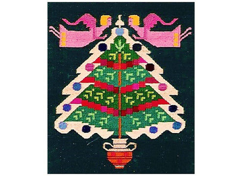 Christmas Tree - Wall Hanging or Small Rug