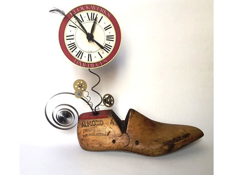 Clock on a Shoe Mold I