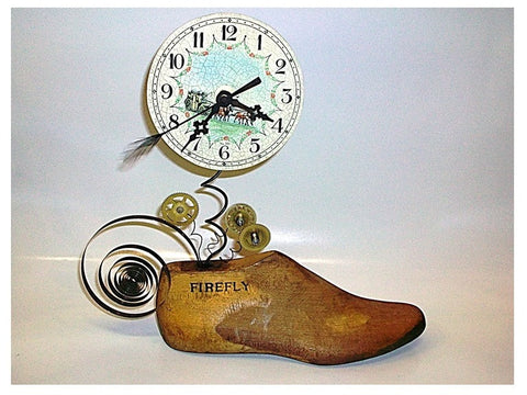 Clock on a Shoe Mold II