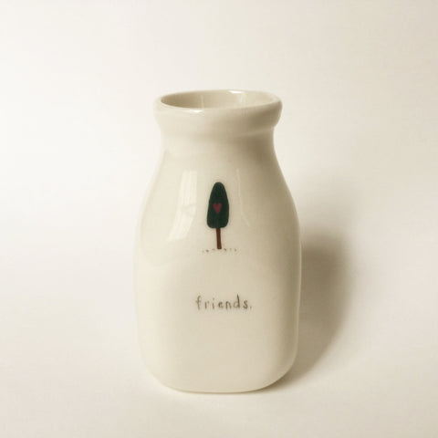 FRIENDS - Small Icon Vase by Beth Mueller