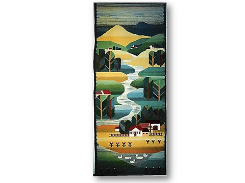 Brook I - Rug or Wall Hanging