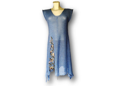 Knitted Sleeveless Tunic