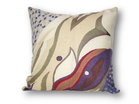 "Georgia O""Keefe art inspired pillow"