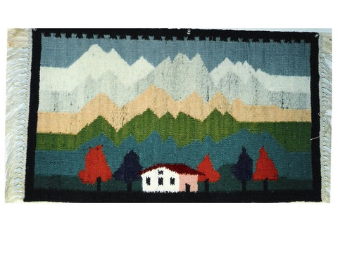 Mountains - Small Rug or Wall Hanging