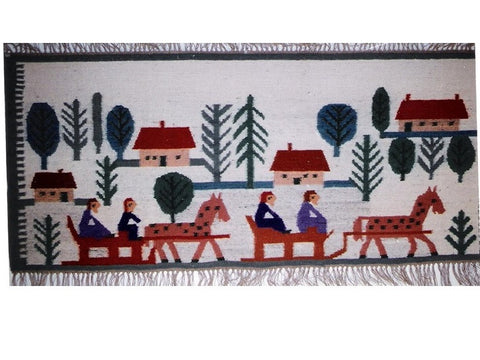 Sleigh Ride - Medium Area Rug