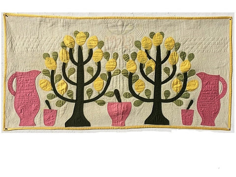 "Original American Quilt ""Lemon Tree"""