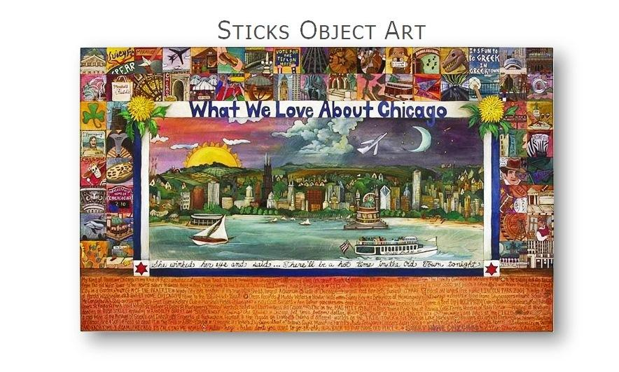 Sticks Object Art for immediate shipping