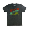 Enjoy STGR Supply Tee - Vintage Black