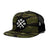 Wrenches Snapback - Tiger Camo