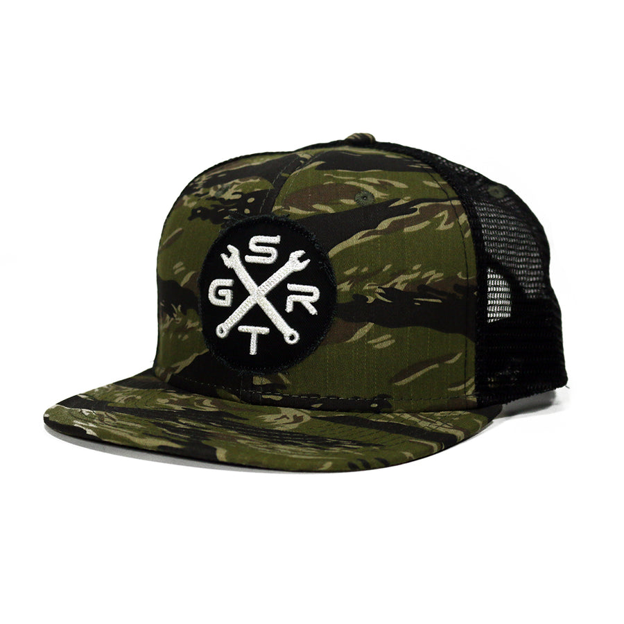 STGR Wrenches Snapback - Tiger Camo