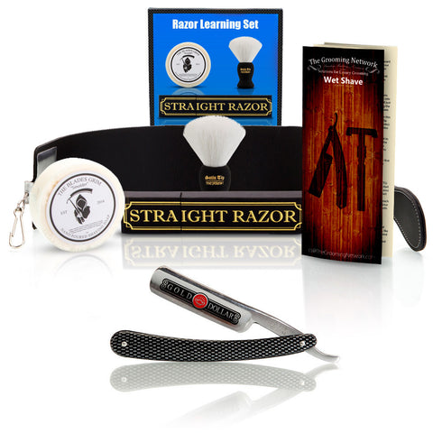 Straight Razor Learning Set - Blunt Edge