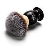 Satin Tip - The Purest - Metal Handle Luxury Synthetic Shaving Brush - Frosted Tips