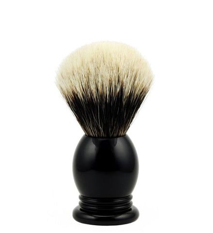 Vintage Blades Brand Finest Badger Shaving Brush in Faux Ebony - 20mm