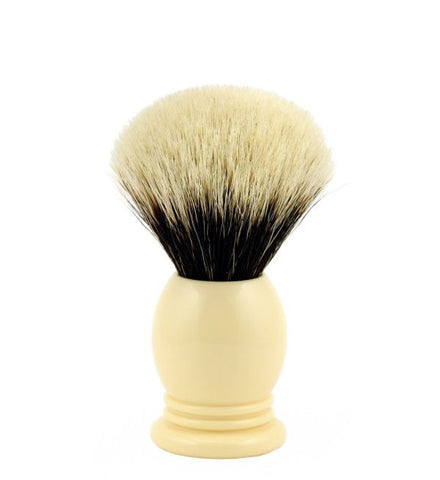 Vintage Blades Brand Finest Badger Shaving Brush in Faux Ivory - 20mm