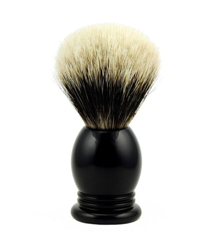 Vintage Blades Brand Finest Badger Shaving Brush in Faux Ebony - 22mm