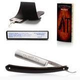 DOVO Solingen 504B 'Classic' 5/8 Straight Razor With Black Scales