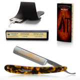"Dovo Imitation Tortoise Shell, 5/8"" Carbon Steel Straight Razor"