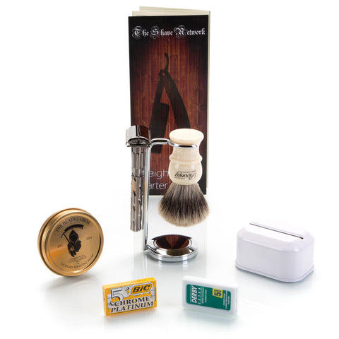 The Perfect Safety Razor Set
