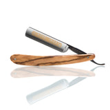 "DOVO - 5/8"" ""INOX"" Straight Razor With Olive Wood Scales"
